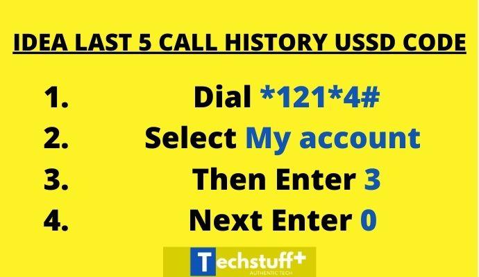 Idea call history