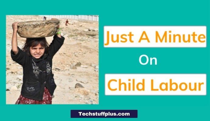 jam topic on child labour