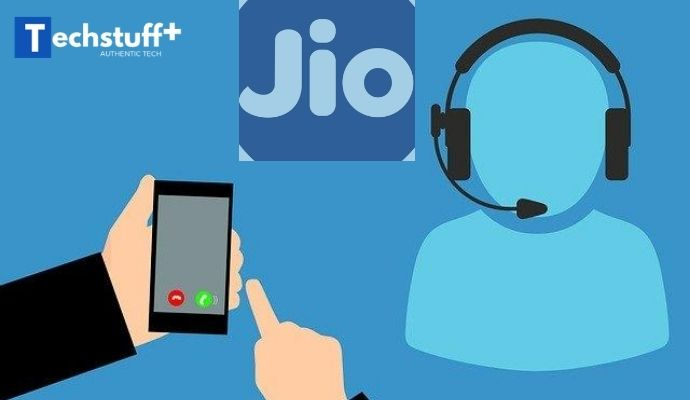 Jio call details from Jio Customer Care