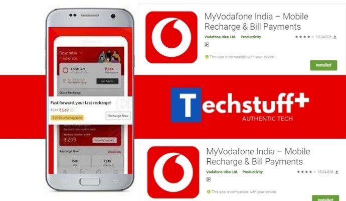 vodafone last call records through app