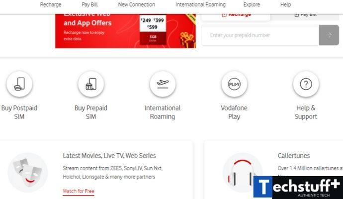 vodafone official site